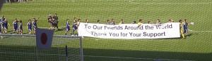 Japan bedankt sich bei WM2011
